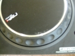 2 scratch draaitafels Reloop professional CD/MP3 player